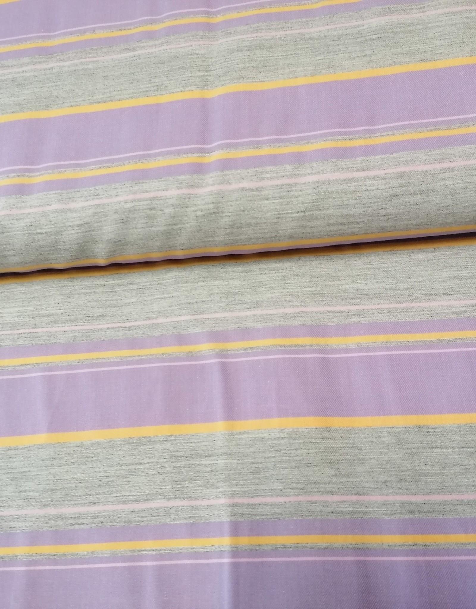 Editex Fabrics Editex Signature soepel paars/grijze/oranje strepen