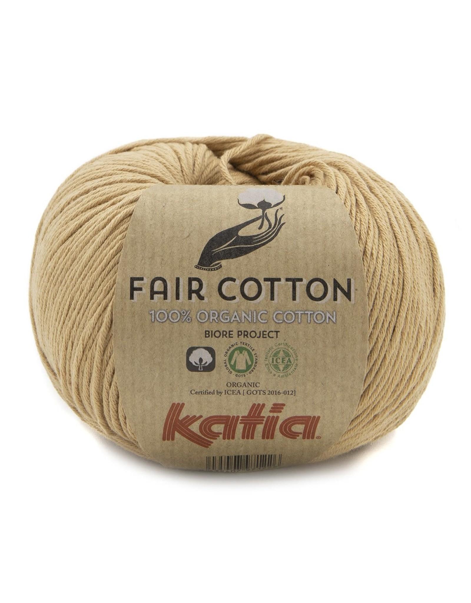 Katia Katia fair cotton 45 - Licht bruin