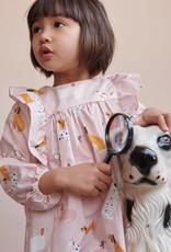 Katia Katia Fabrics katoen Home Detective Main paw 115
