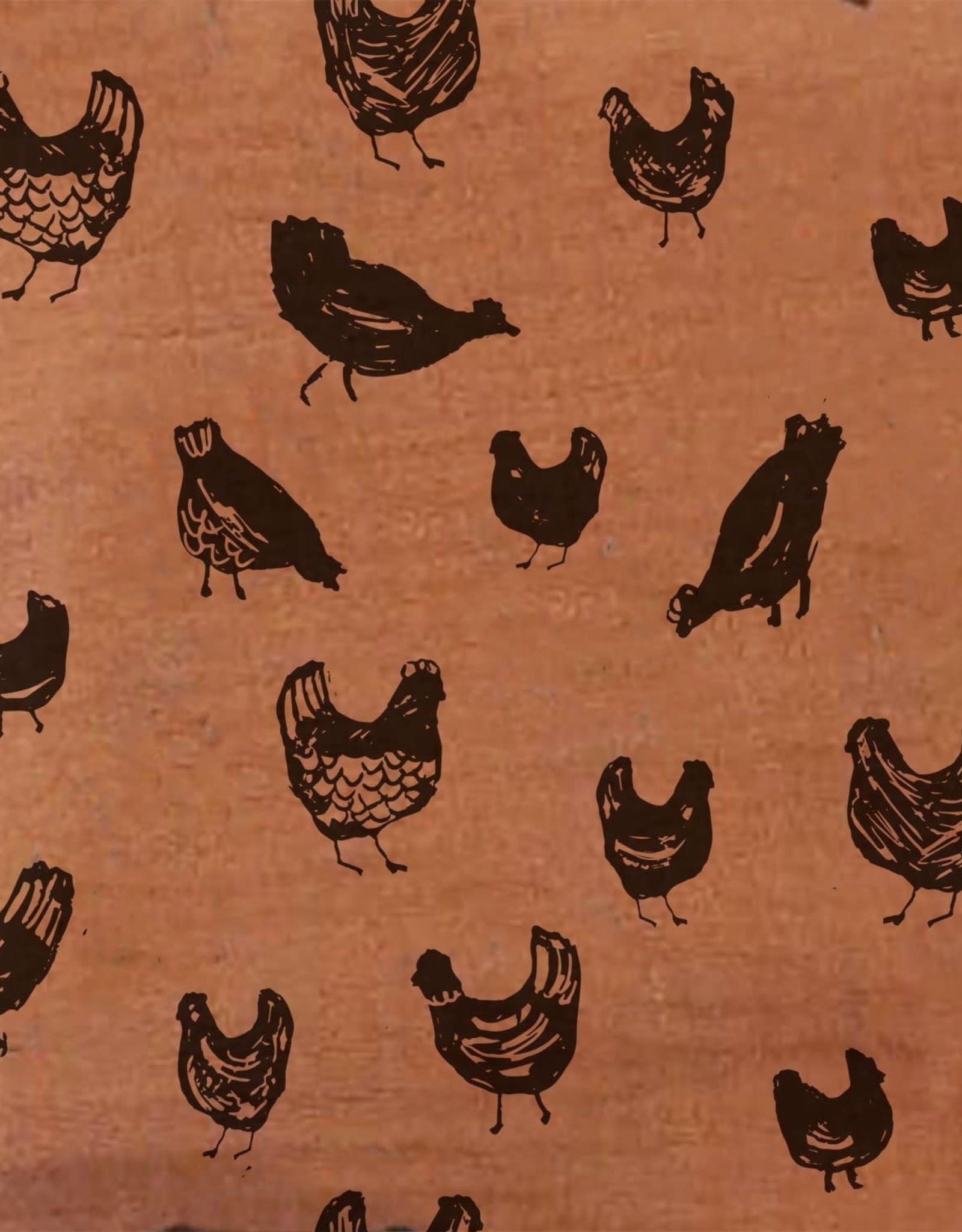 Katia Katia Fabrics mousseline  Chicken MAW 6