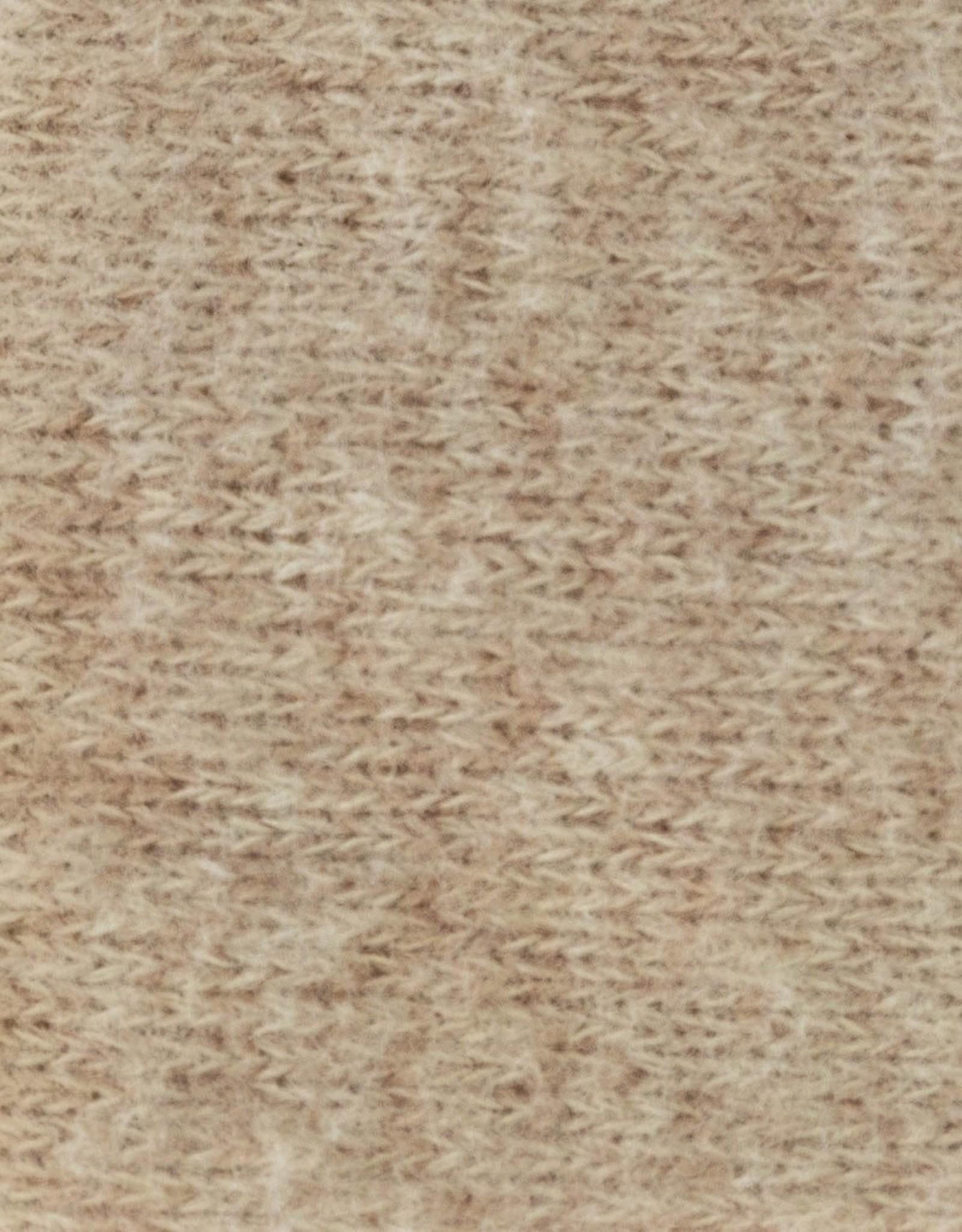 Katia Katia  fabrics  Recycled Brushed Jersey Almond RBJ 1