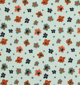 Poppy Poppy Double Gauze Flowers GOTS