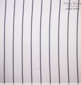 Fibre Mood Fibre Mood editie 15 Hydrofiel Strepen ecru met zwart ( Viola. Belle)