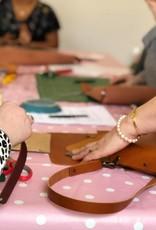 Workshop lederen tas maken