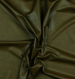 Poppy Poppy Leather  soft stretch uni groenig
