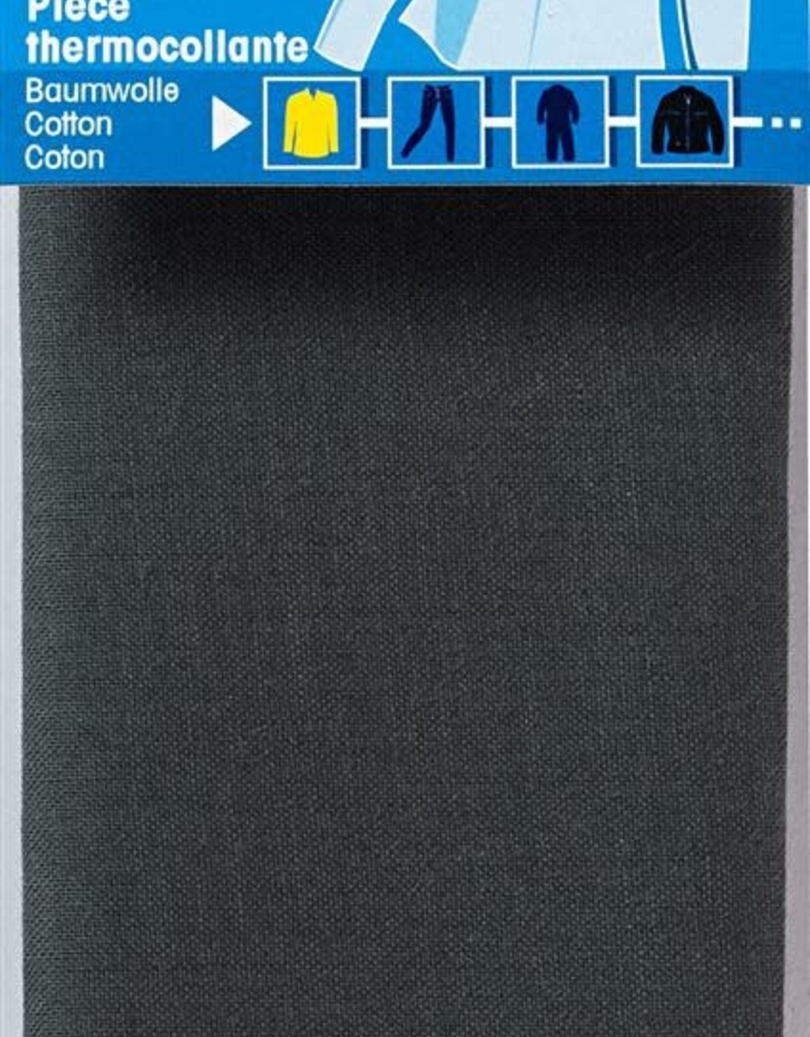 Prym Prym VERSTELSTUK Katoen OPSTRIJKB. 12x45cm  (p1st) grijs