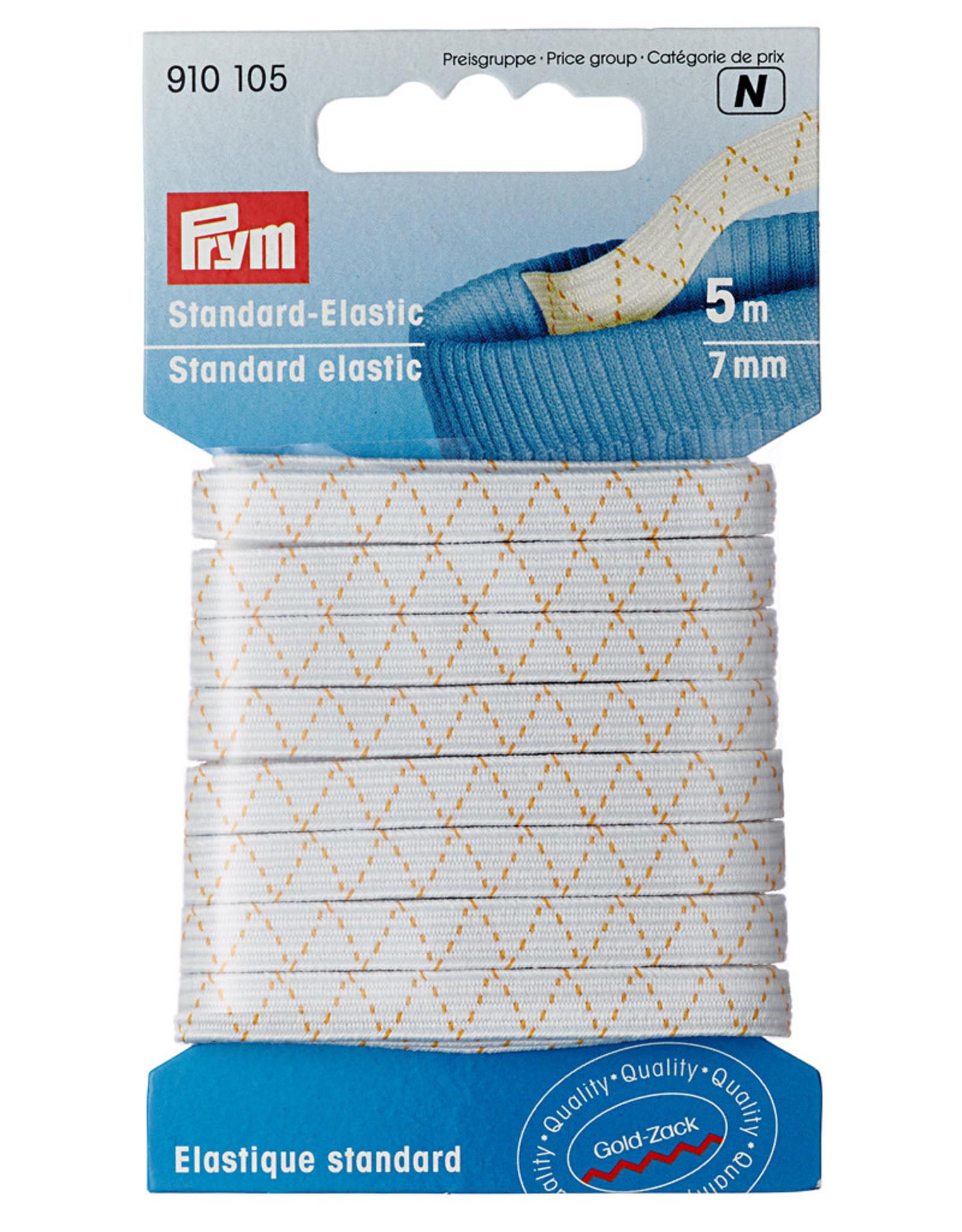 Prym Prym Standaard elastiek 7 mm wit 5 m