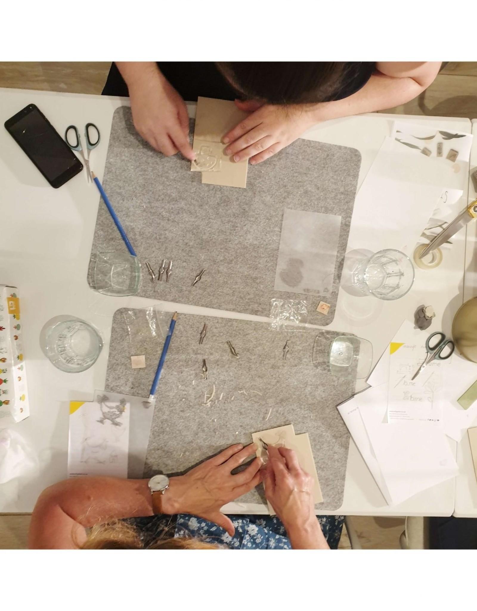 Workshop stempels maken
