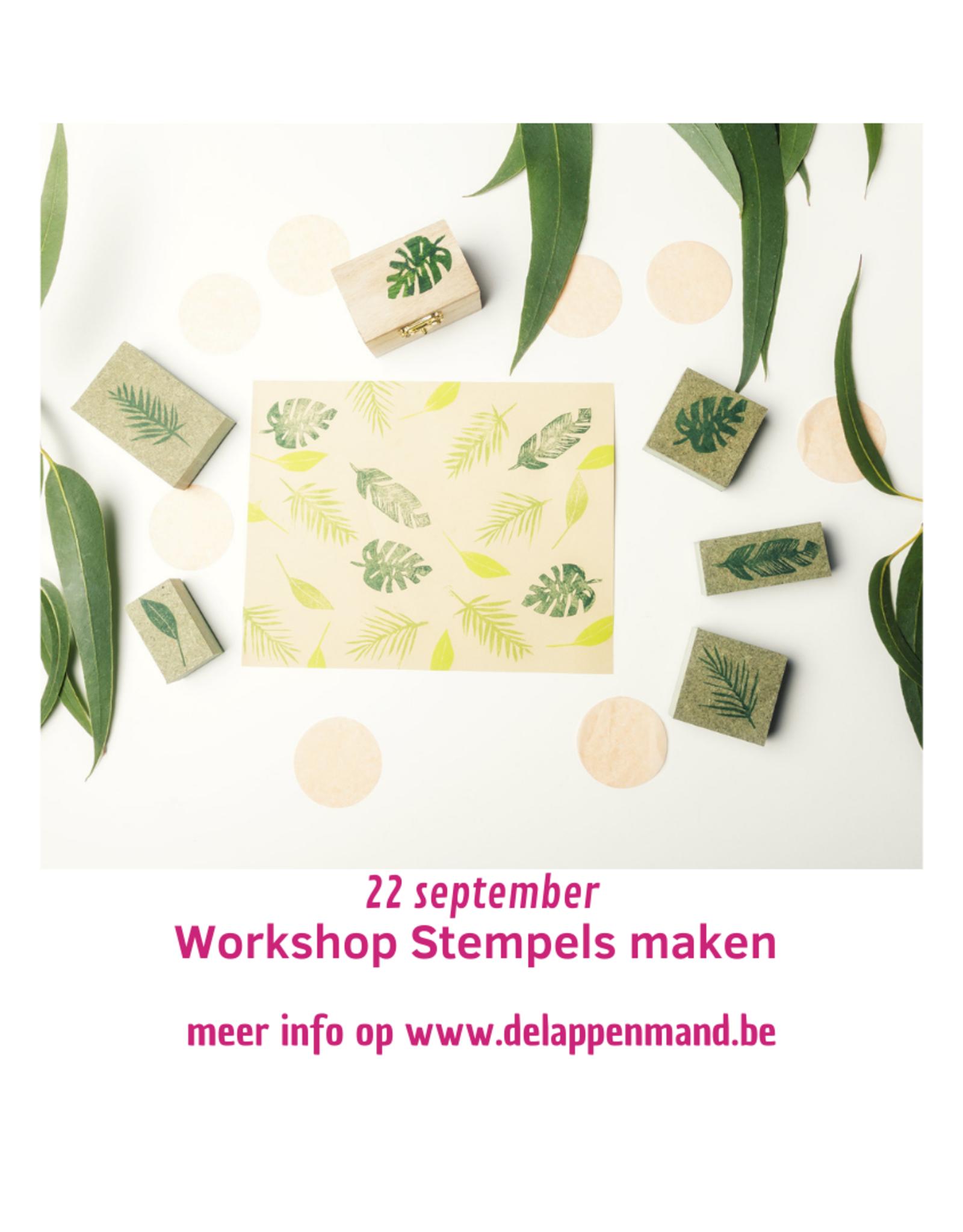 Workshop stempels maken 26 Oktober