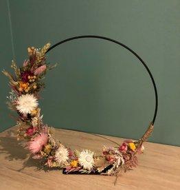 Workshop Flowerhoop op voet maken 9 november
