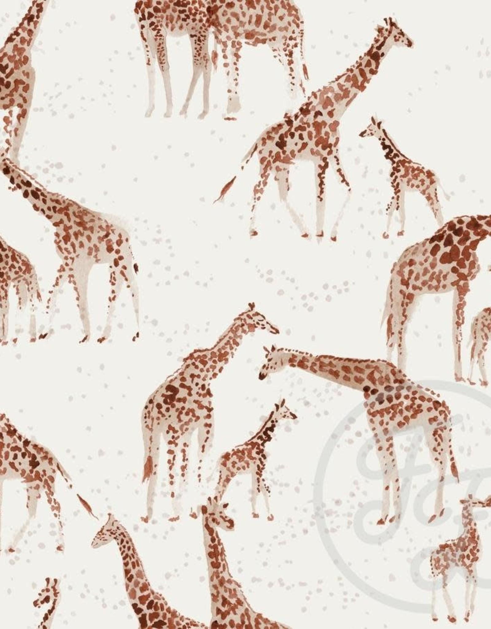 Family Fabrics Family Fabrics jersey Giraffe