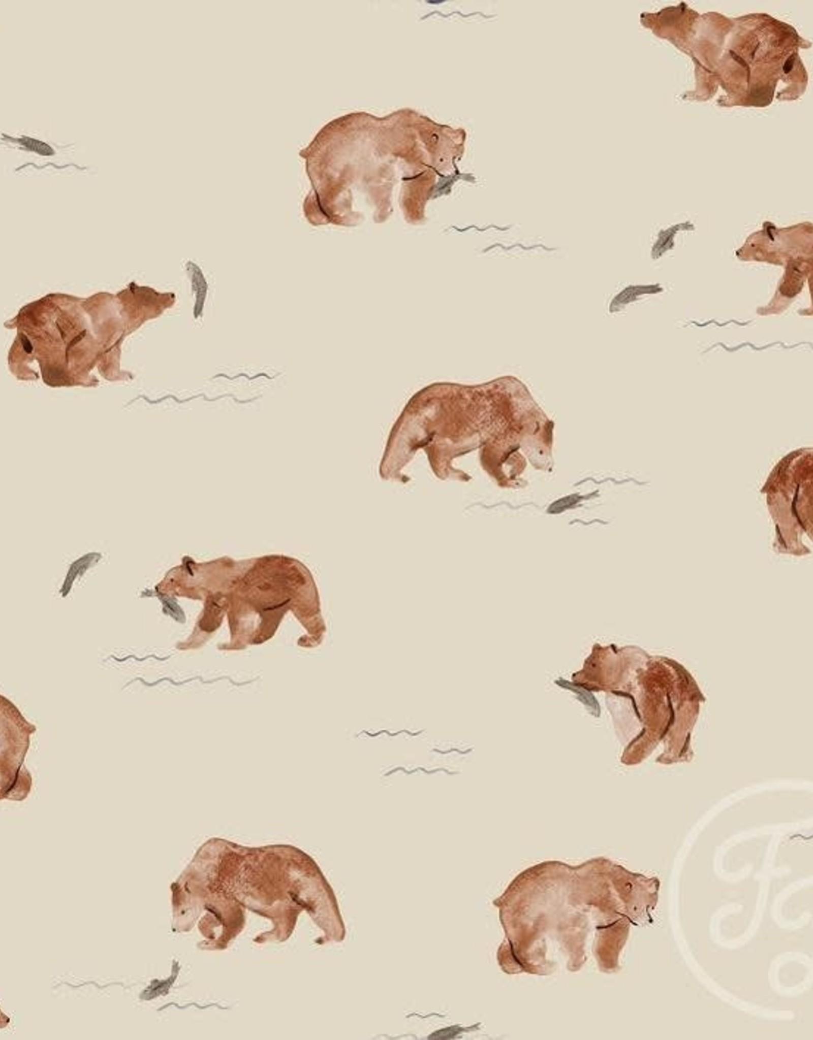 Family Fabrics Family Fabrics French Terry  Bears