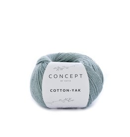 Katia Katia Cotton-yak 111 - Witgroen