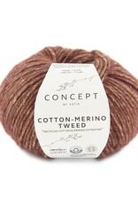 Katia Katia Cotton-merino tweed 500 - Rood