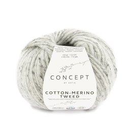 Katia Katia Cotton-merino tweed 506 - Grijs