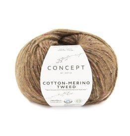 Katia Katia Cotton-merino tweed 505 - Bruin
