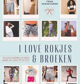 Boek I love rokjes en broeken Fran Van Severen