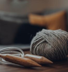 Workshop  leren breien op een rondbreinaald (continentale manier)  21 september