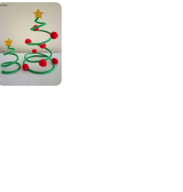 Workshop kerstboom punnikken voor kinderen