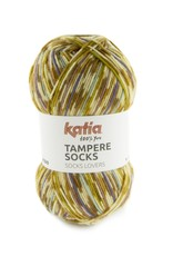 Katia Katia Tampere Socks 102 - Camel-Parelmoer-lichtviolet-Lila