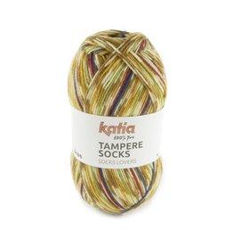 Katia Katia Tampere Socks 103 - Camel-Blauw-Groen-Geel-Rood