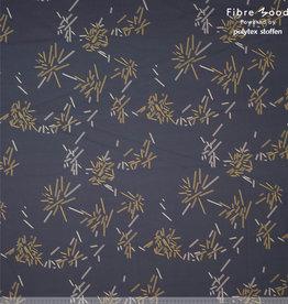 Fibre Mood Fibre Mood ed 16 woven wild stripe zwartgeel (Doris)
