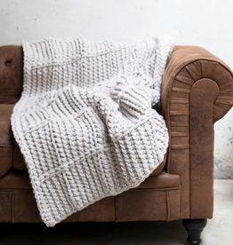 Katia Katia Kit Haakpakket voor een geblokte XXL deken van Alimaravillas
