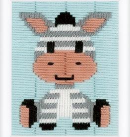 vervaco Spansteek kit Zebra