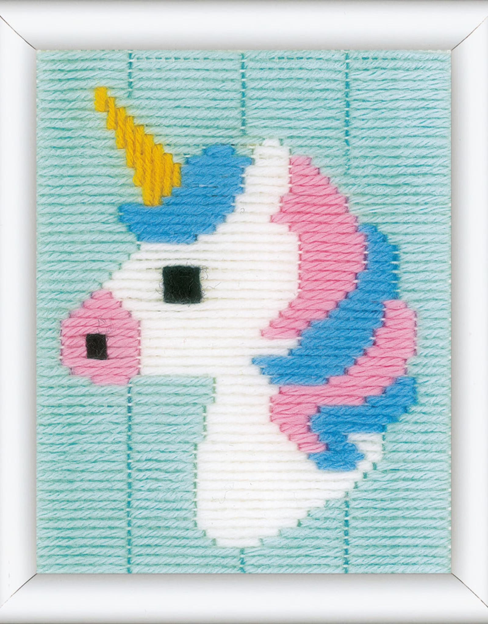 vervaco Spansteek kit Unicorn