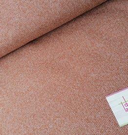 Editex Fabrics Editex visgraatmotief bruinig