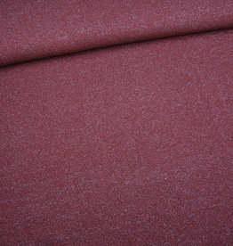 Editex Fabrics Editex Knitted Lurex donkeroze met glitter