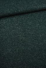 Editex Fabrics Editex Knitted Lurex donkergroen met glitter