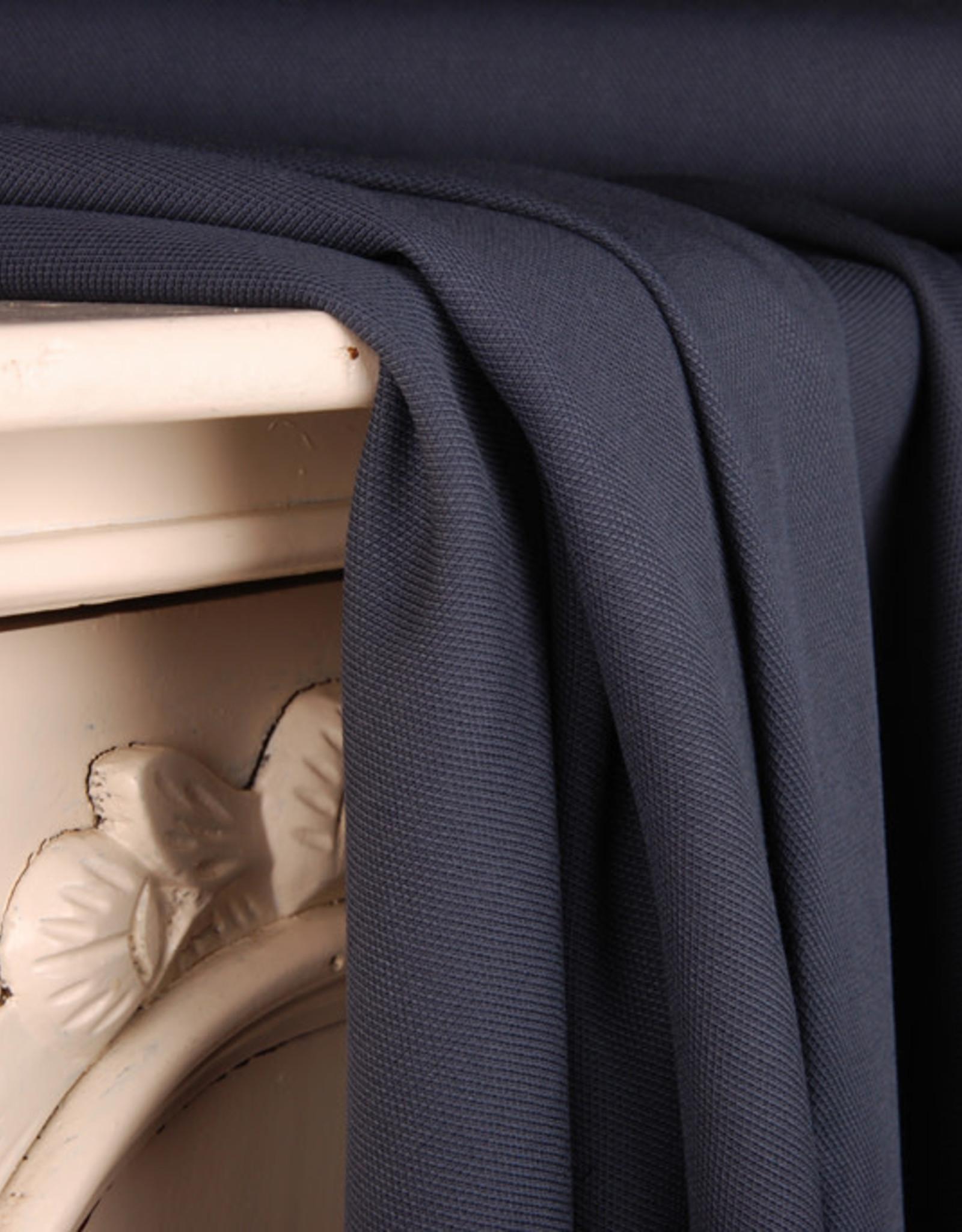 Editex Fabrics Editex Plain Basic donkerjeans blauw