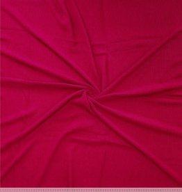 Polytex Polytex gebreide stof rib Rumba rood