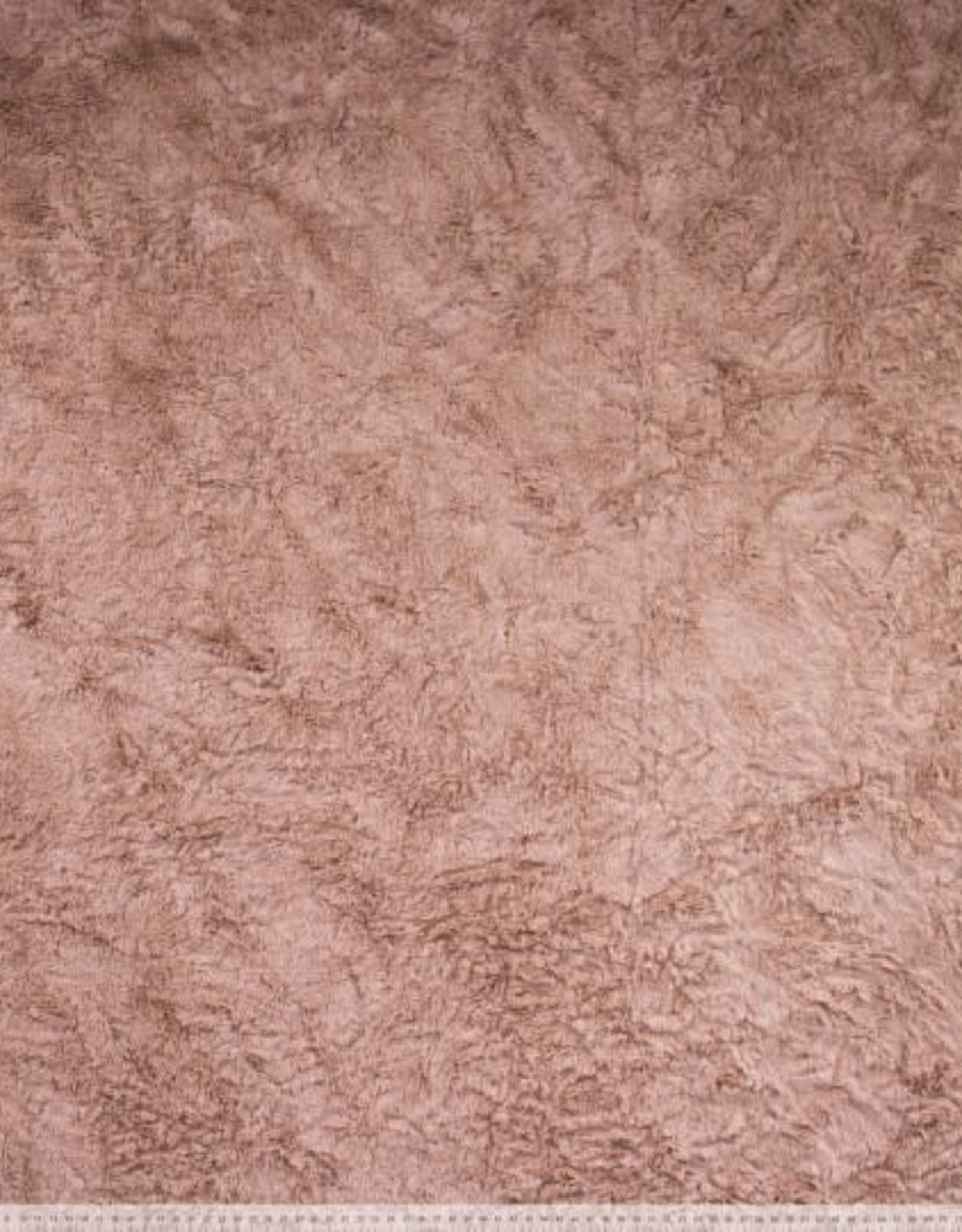 Polytex Polytex  knit fur /pels stofje camel/beige