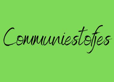 Communiestofjes