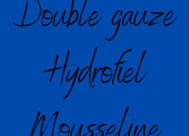 Double Gauze - Hydrofiel - Mousseline