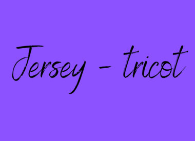 Jersey - tricot