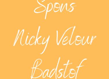 Spons - Nicky Velours - Badstof