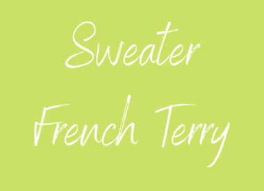 Sweater  - French Terry