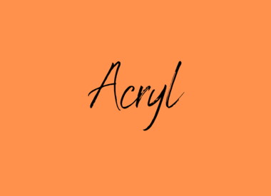Acryl garen