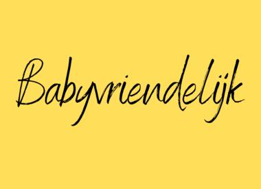 Babyvriendelijk