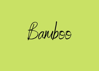 Bamboo garen