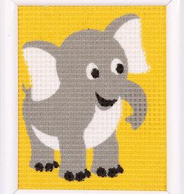 vervaco Penelope kit olifant halve kruisjesteek