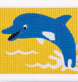 vervaco Penelope kit dolfijn halve kruisjesteek