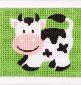 vervaco Penelope kit koe halve kruisjesteek