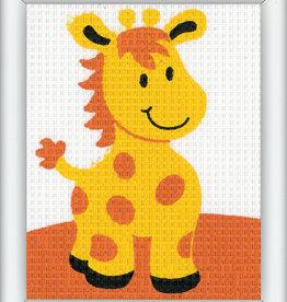 vervaco Penelope kit girafje halve kruisjesteek