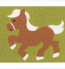 vervaco Penelope kit pony halve kruisjesteek