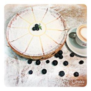 Käse Blaubeer Kuchen | Stk