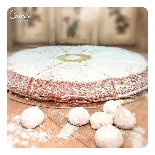 Mandelkuchen ohne Mehl gebacken | Ø26cm | Stück
